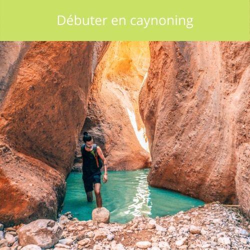 debuter en canyoning