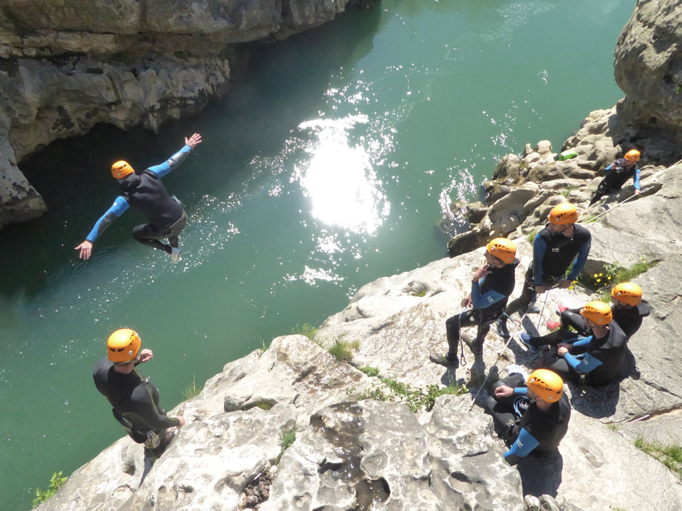 canyoning pont du diable